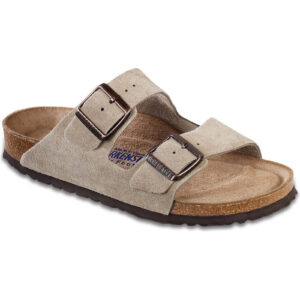 Arizona Soft Footbed Suede Taupe