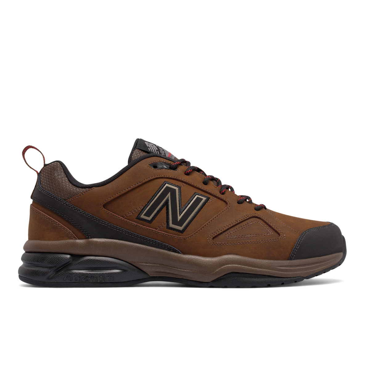 176a3e5c67f6 623v3 Core Trainer Leather – Brown with Brown