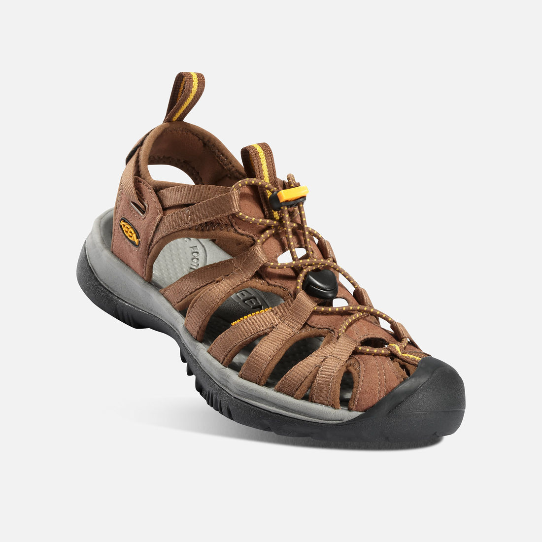 5b5546050d18 KEEN Whisper Sandal - Coffee Brown - Rudolph Shoes.com