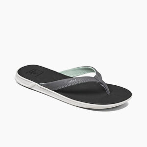 099378dd7cf Reef Rover Catch Flip Flop – Black with Mint