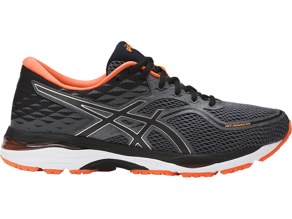 asics gel cumulus 19 running black orange rudolph. Black Bedroom Furniture Sets. Home Design Ideas